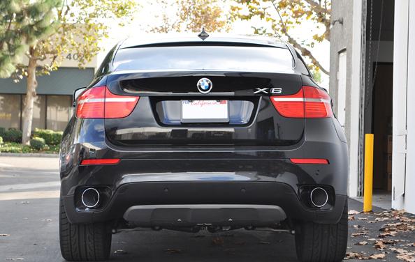 Eisenmann Performance Exhaust BMW E71 X6 35i 2x120mm: BMW X6 Performance Exhaust At Woreks.co