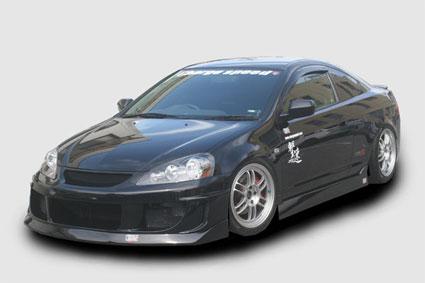 Chargespeed Kouki Front Bumper Acura RSX Evasive Motorsports - Acura rsx bumper