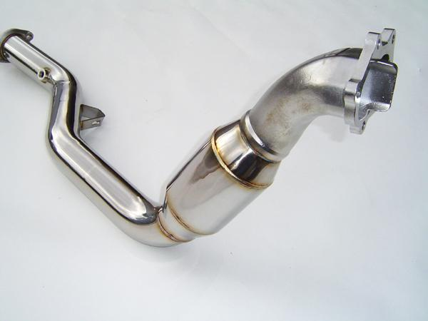 Invidia Catted Down Pipe With Wideband