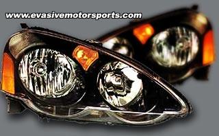 Acura RSX JDM Type R Headlights Evasive Motorsports - 2002 acura rsx type s headlights