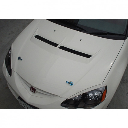 Js Racing Type S Ventilated Hood Acura RSX DC FRP Or CFRP - Acura rsx hood