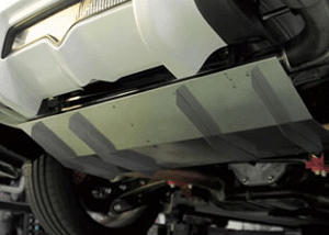 Trd Rear Diffuser Set Scion Frs Subaru Brz Evasive Motorsports