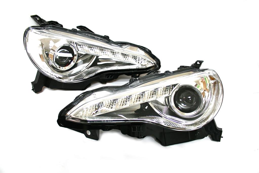 Winjet Projector Headlights - Scion FRS / Subaru BRZ | Evasive ...