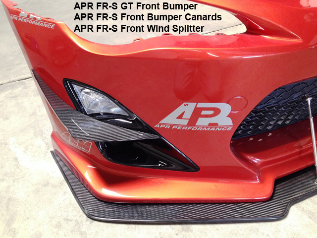 APR Perfomacne CARBON FIBER BRAKE COOLING DUCTS AIR DUCTS 13-UP SCION FR-S