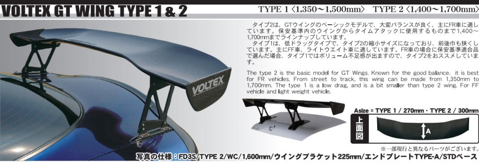 Universal Spoiler Gurney Flap Civic Integra FRS BRZ S2000 Voltex