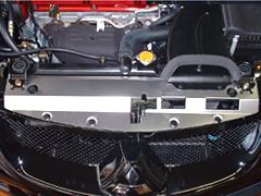 Parts & Accessories CARBON FIBER RADIATOR SHROUD COOLING PLATE FOR MITSUBISHI EVO 8 9 VIII Automotive