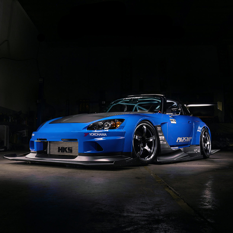The Evs2 V4 Honda S2000 With Voltex Circuit Version Iii